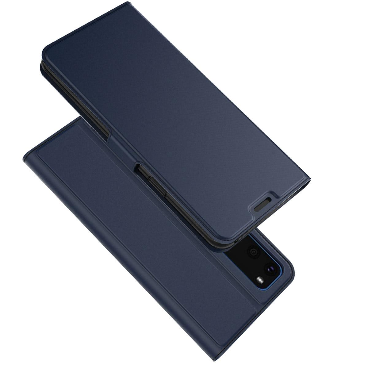 Slim Card Wallet Samsung Galaxy S20 blå