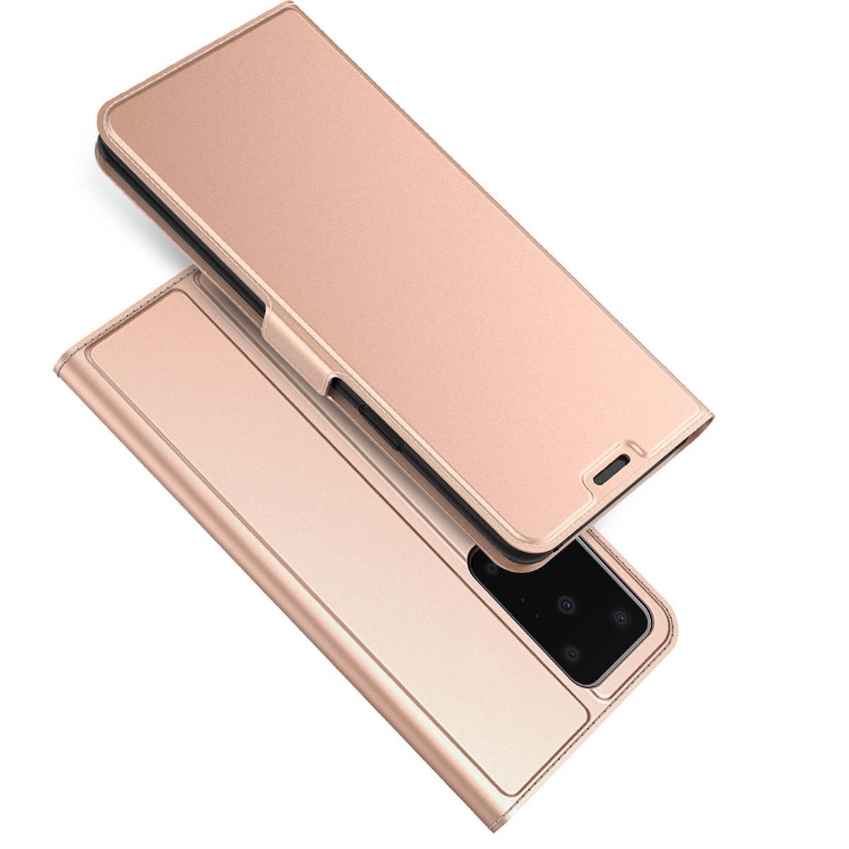 Slim Card Wallet Galaxy S20 Ultra rosegull