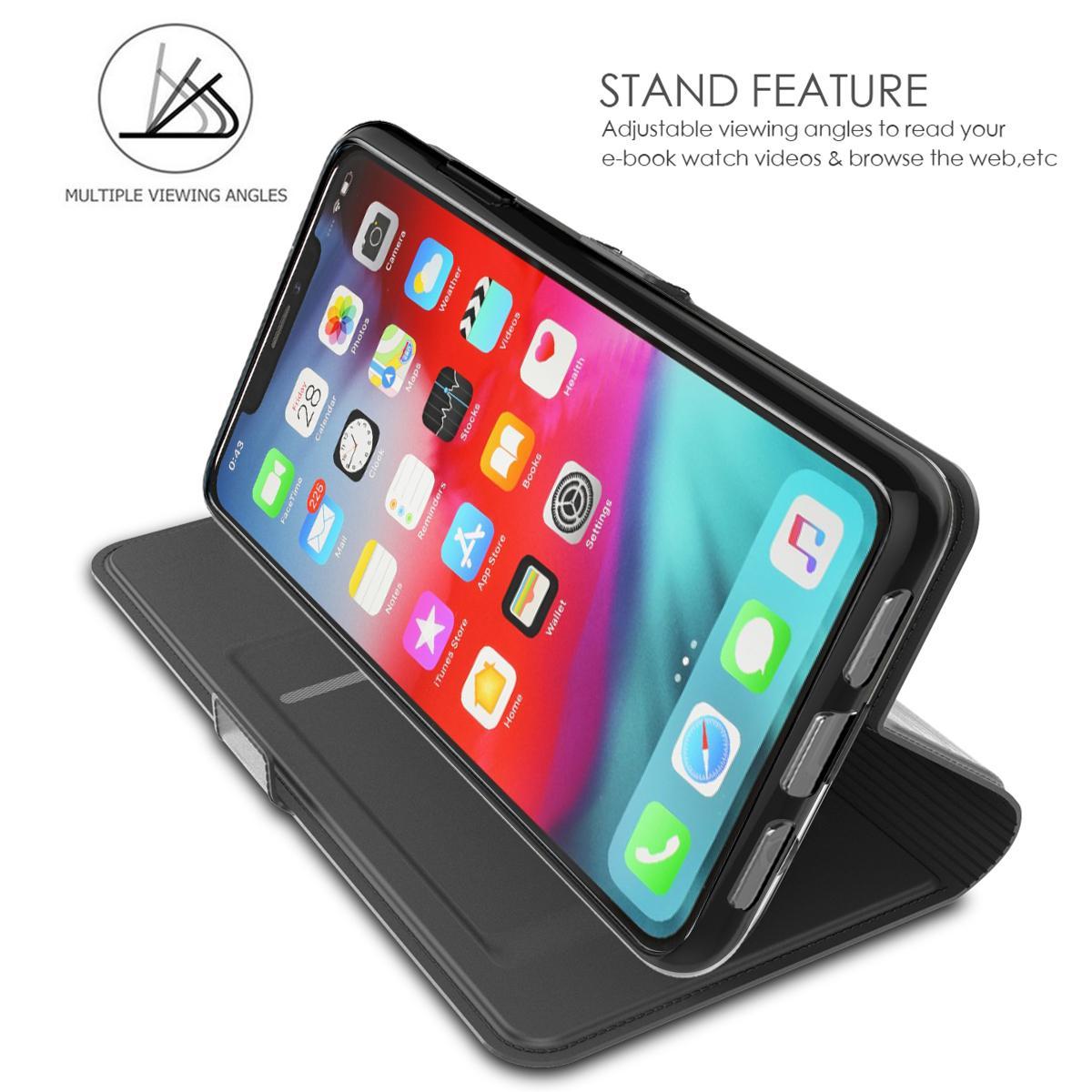 Slim Card Wallet iPhone 11 Pro svart