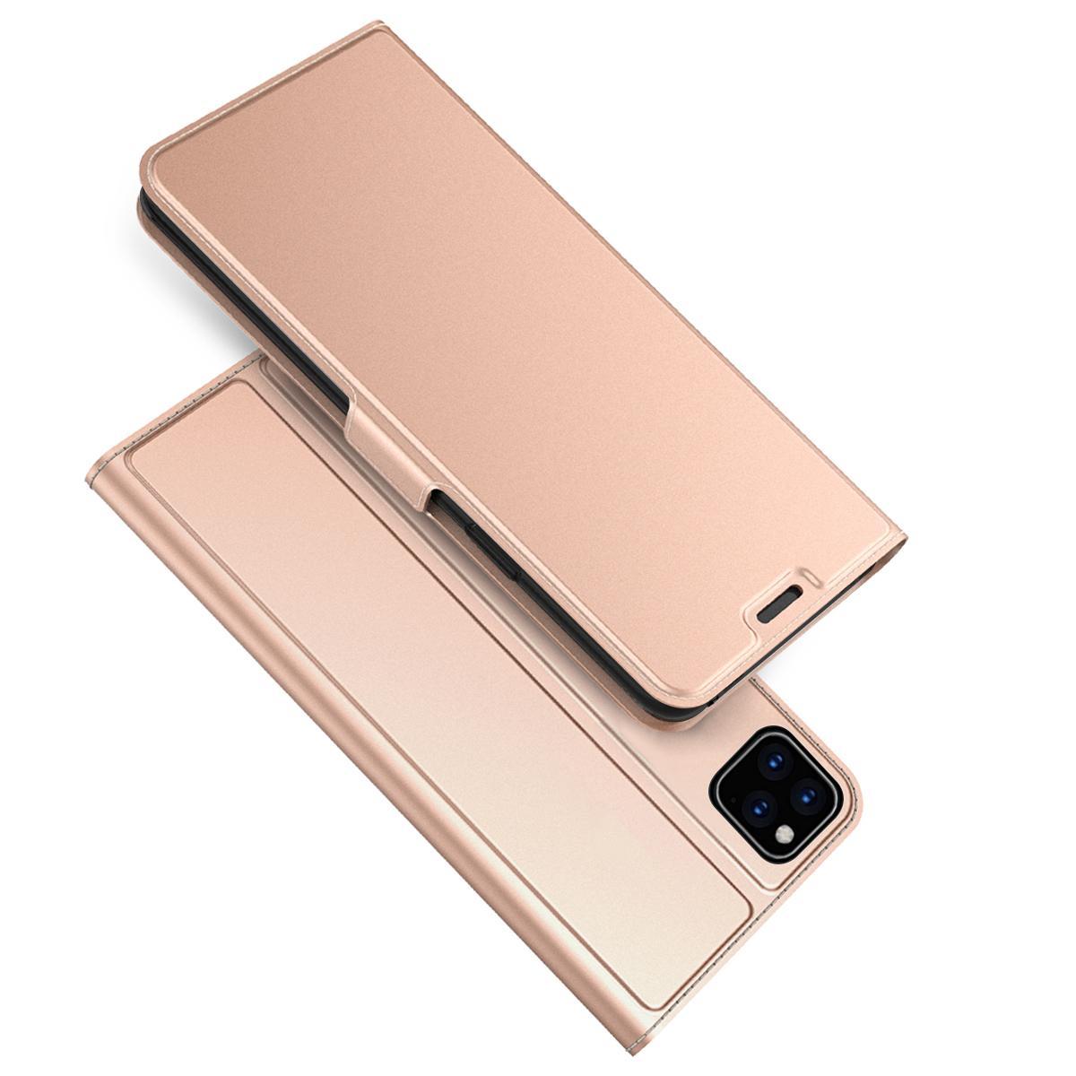 Slim Card Wallet iPhone 11 rosegull