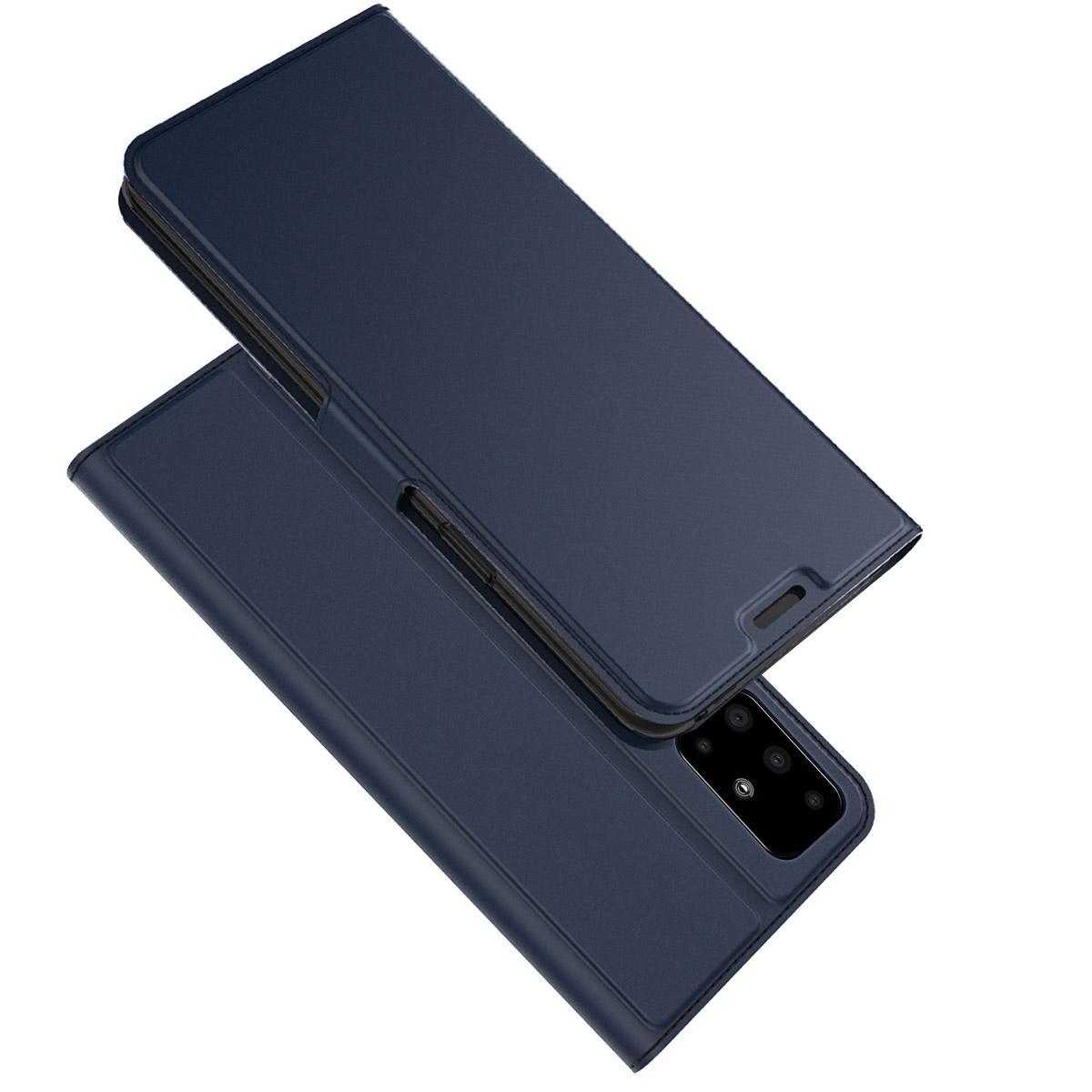 Slim Card Wallet Samsung Galaxy A51 blå