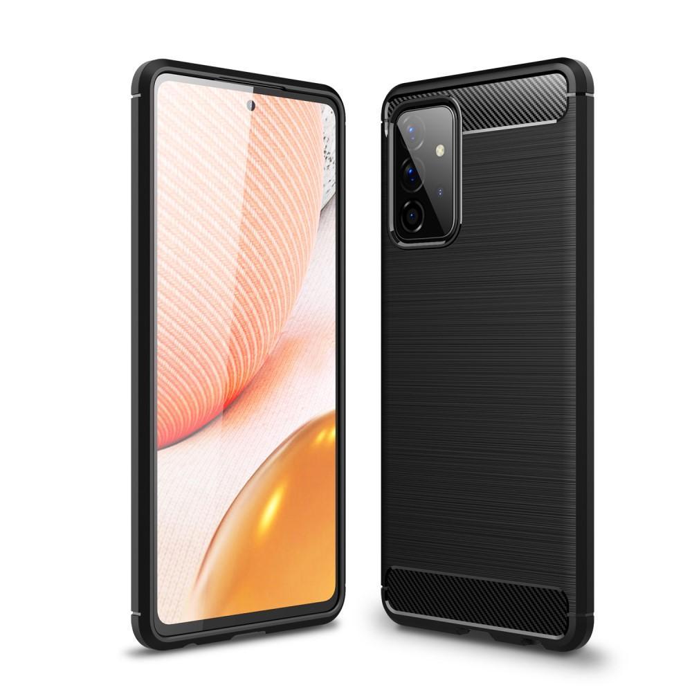 Brushed TPU Deksel Galaxy A72 5G Black