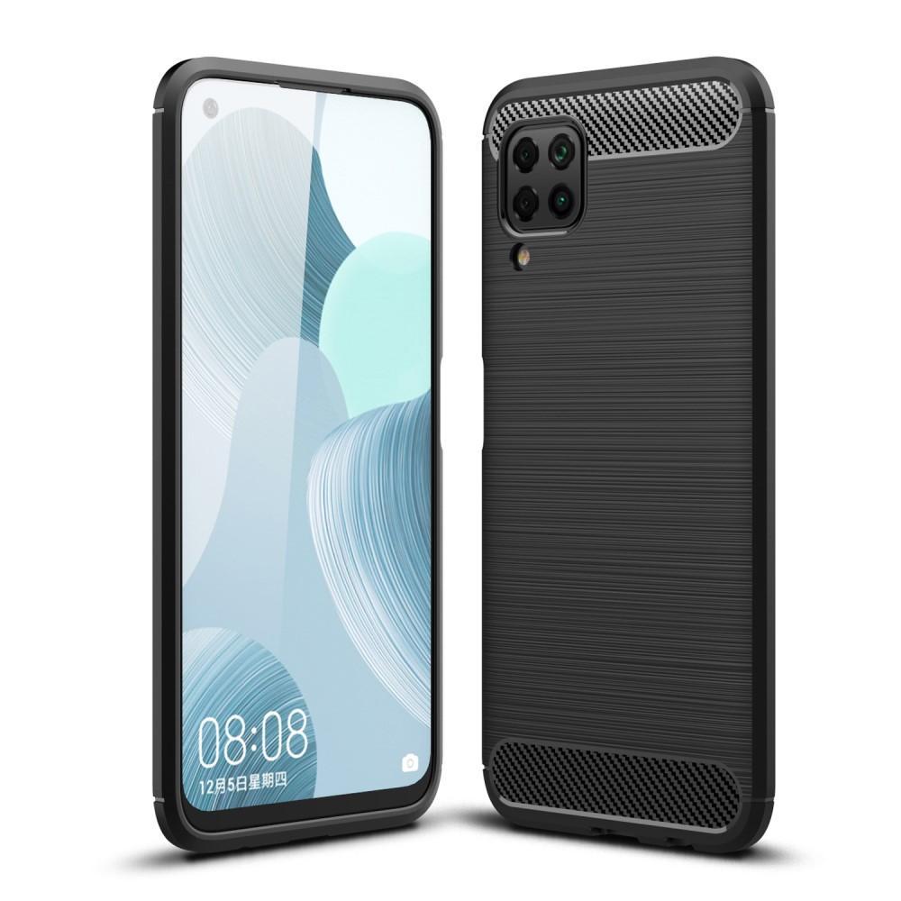 Brushed TPU Deksel Huawei P40 Lite Black