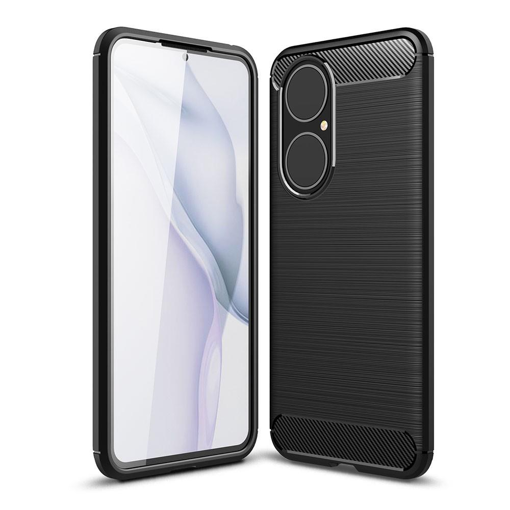 Brushed TPU Deksel Huawei P50 Black