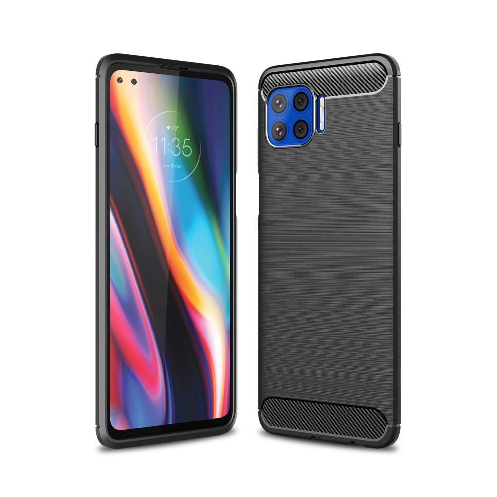 Brushed TPU Deksel Motorola Moto G Plus 5G Black