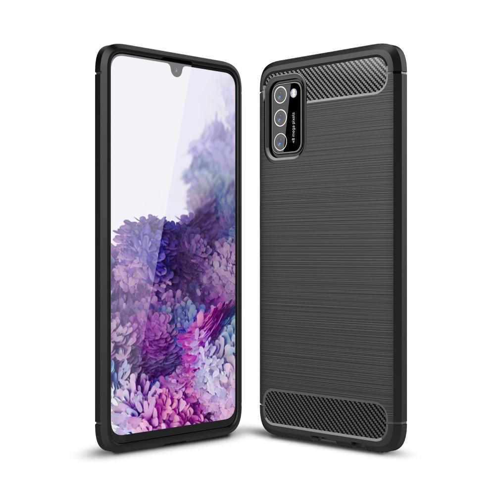 Brushed TPU Deksel Samsung Galaxy A41 Black