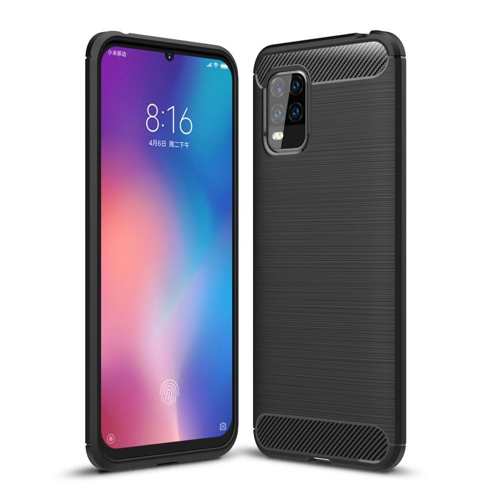 Brushed TPU Deksel Xiaomi Mi 10 Lite Black