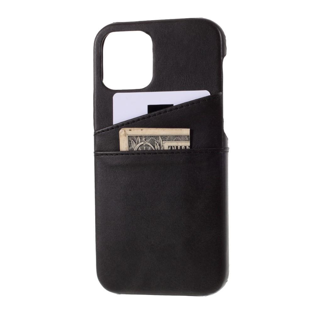 Card Slots Case iPhone 12 Mini svart