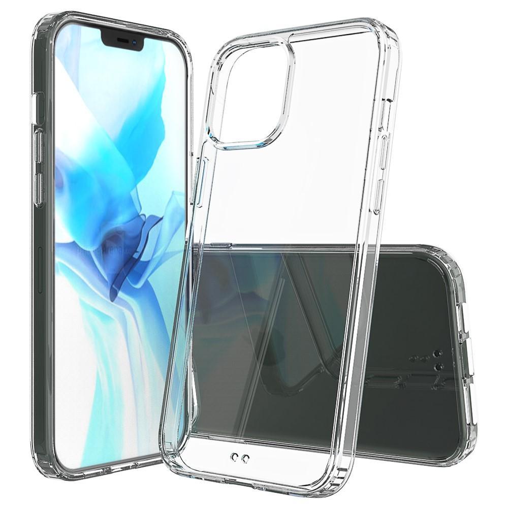 Crystal Hybrid Case iPhone 12 Pro Max Transparent