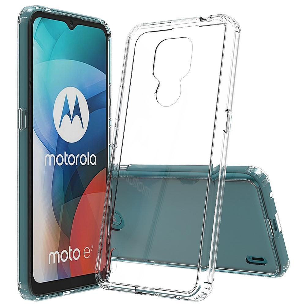 Crystal Hybrid Case Motorola Moto E7 Transparent