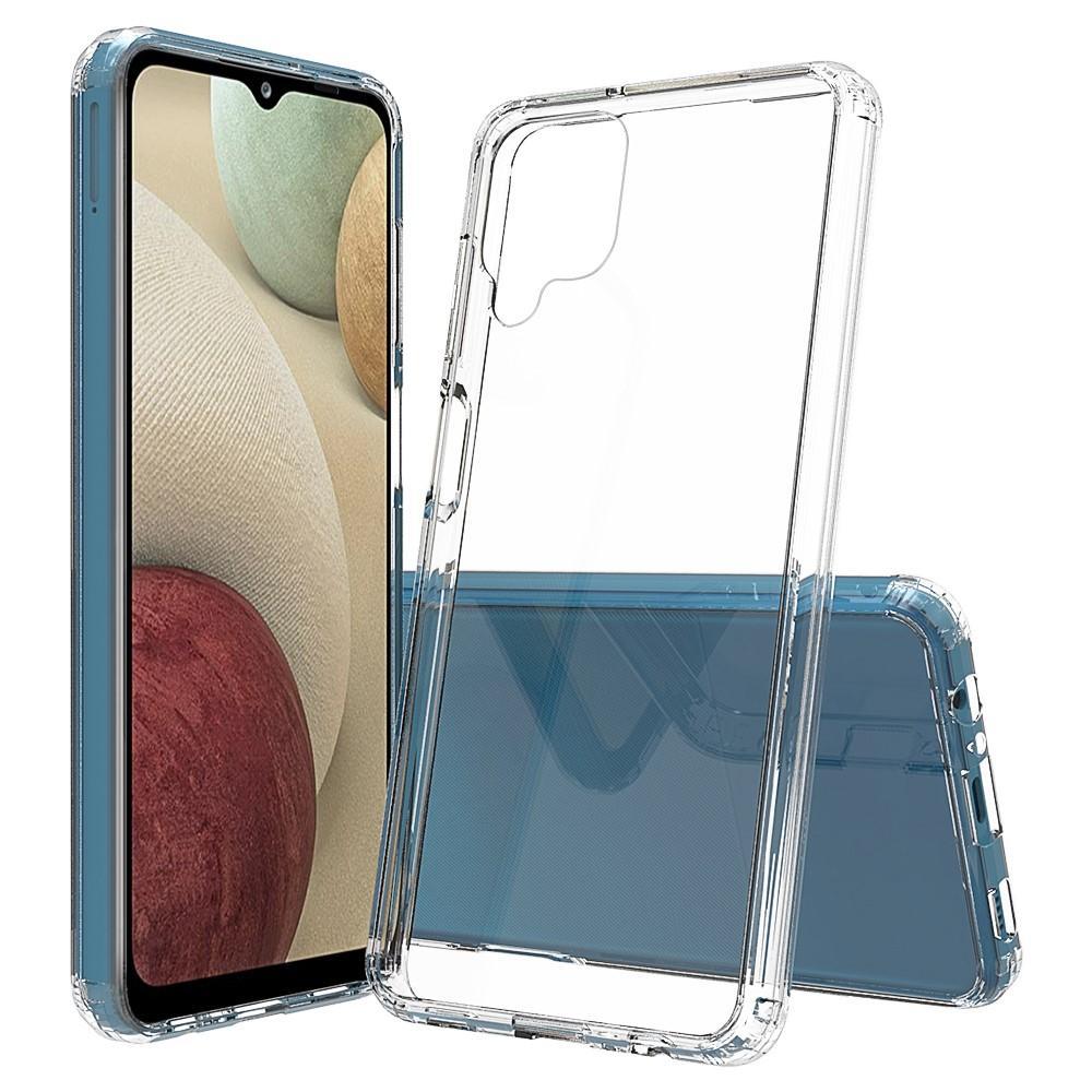 Crystal Hybrid Case Samsung Galaxy A12 Transparent
