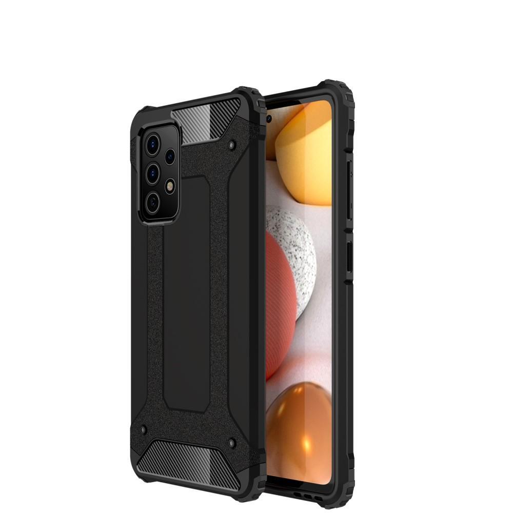 Hybriddeksel Tough Galaxy A72 5G svart