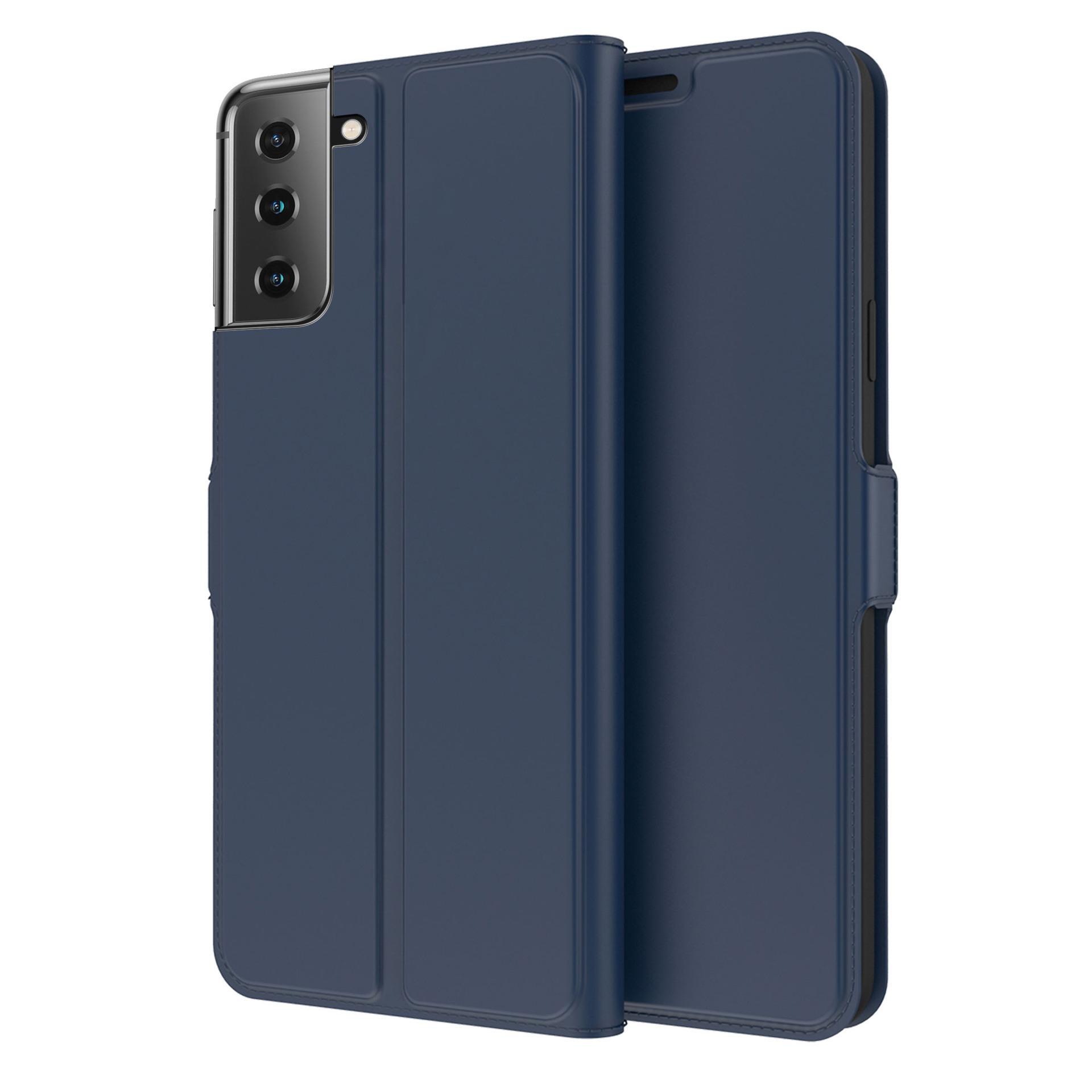 Slim Card Wallet Galaxy S21 Plus blå