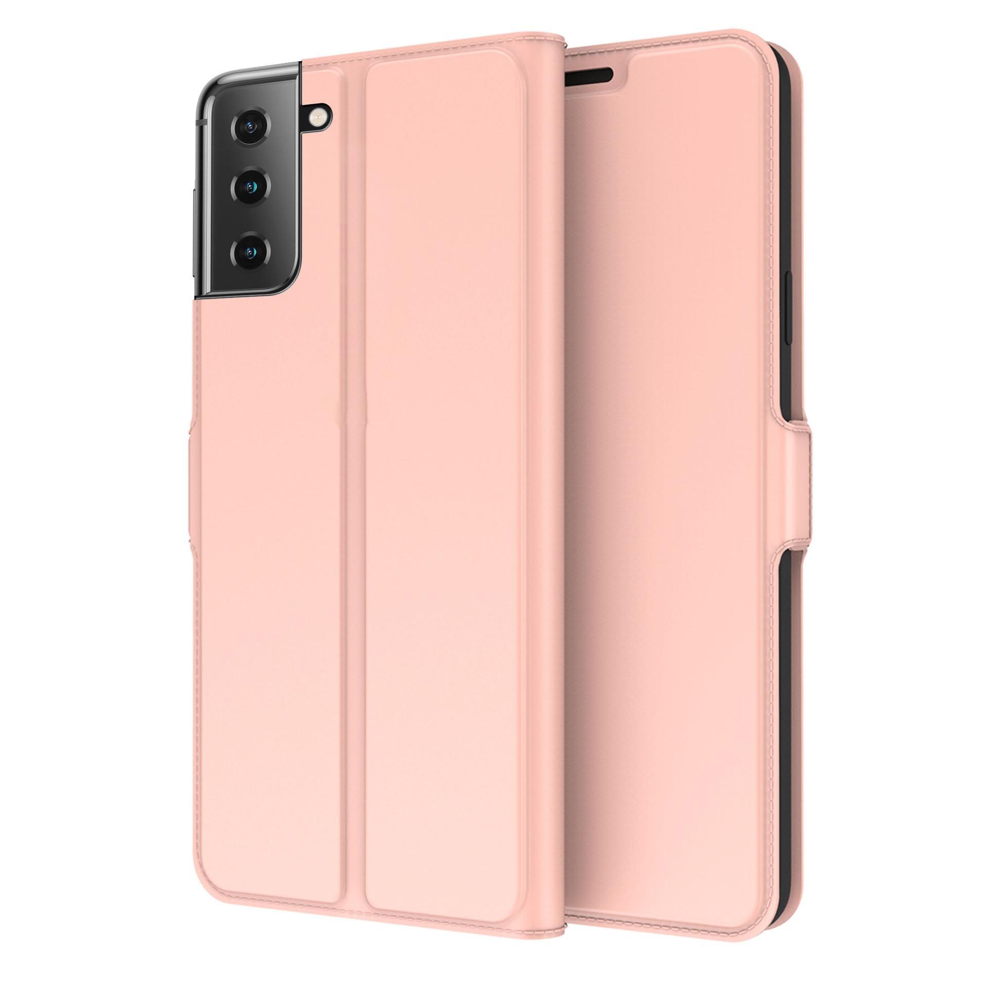 Slim Card Wallet Galaxy S21 rosegull
