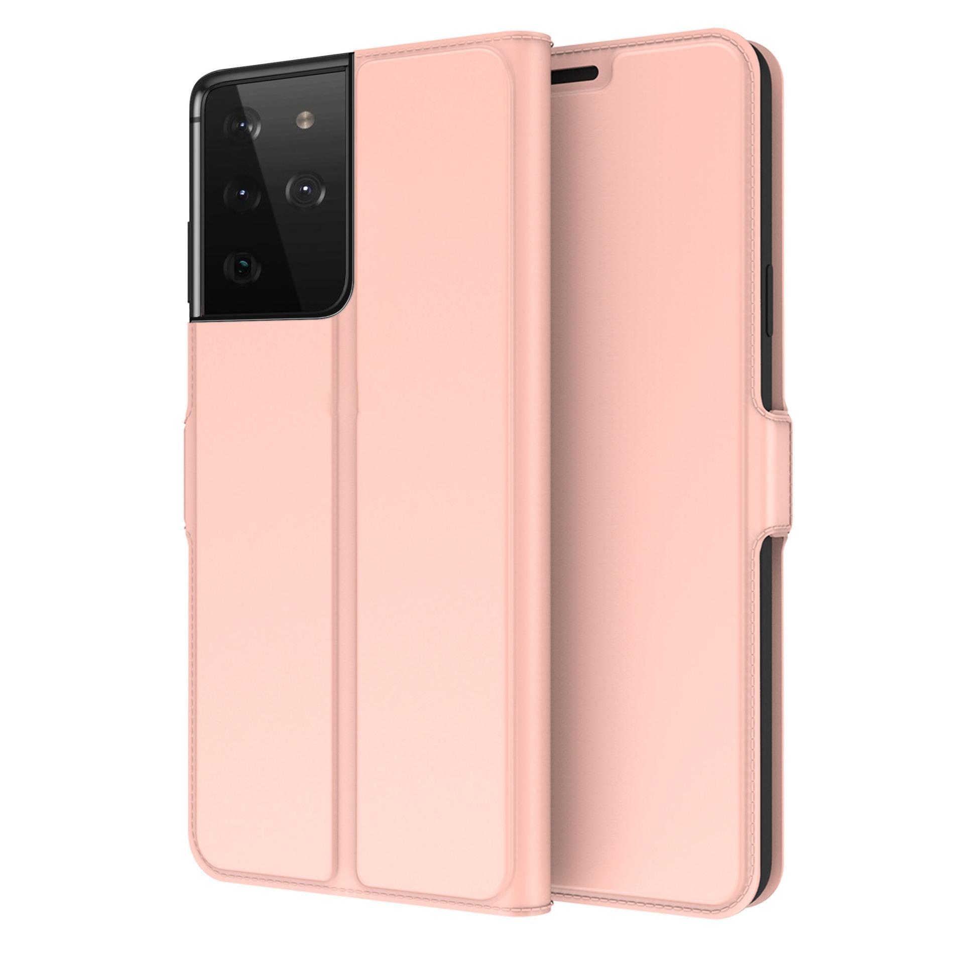 Slim Card Wallet Galaxy S21 Ultra rosegull