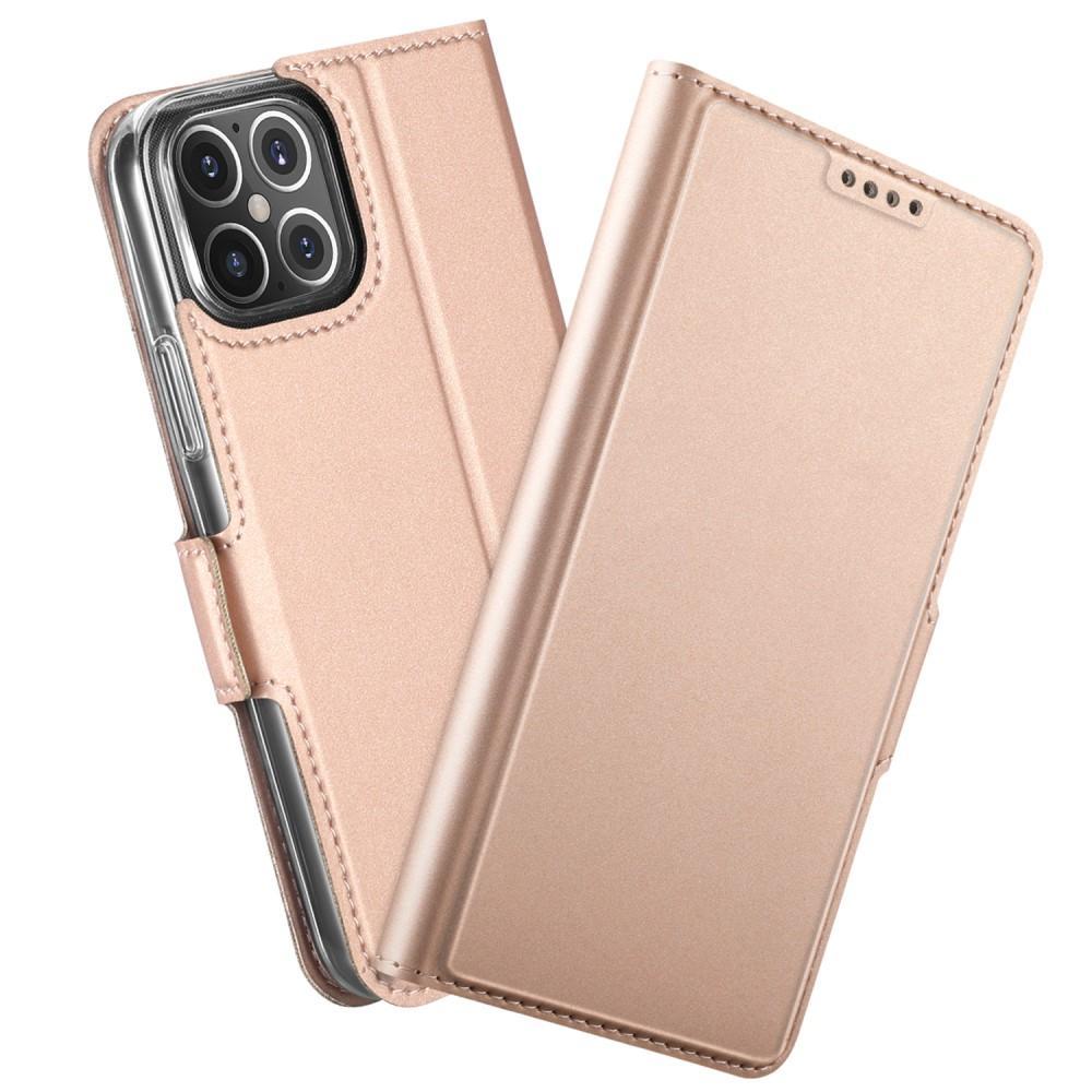 Slim Card Wallet iPhone 12 Mini rosegull