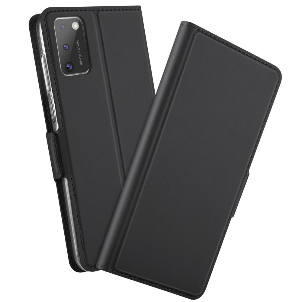 Slim Card Wallet Samsung Galaxy A41 svart