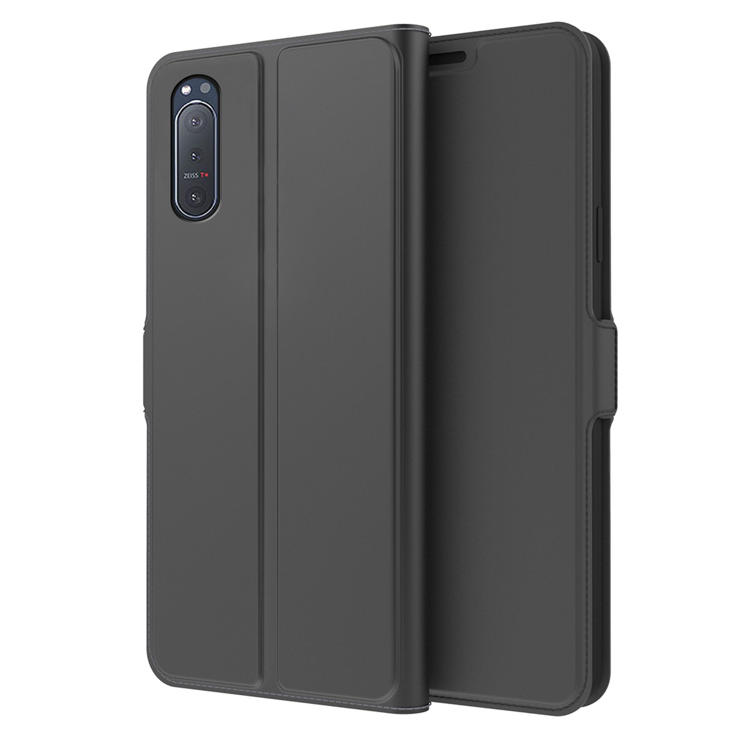 Slim Card Wallet Sony Xperia 5 II svart