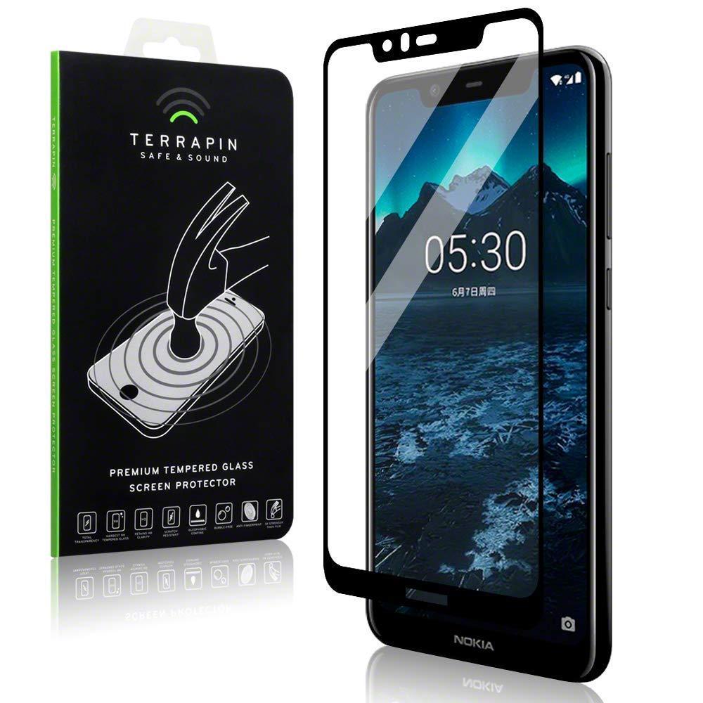 Tempered Glass Skjermbeskytter Nokia 5.1 Plus svart