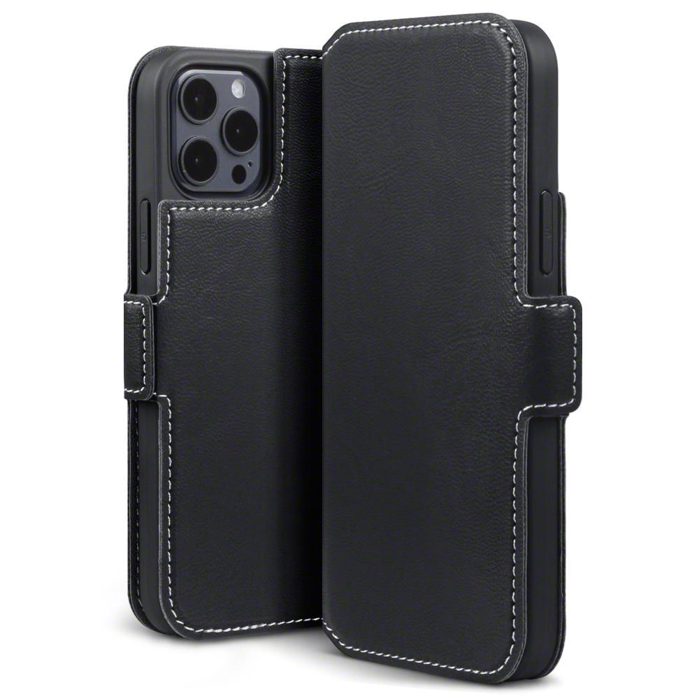 Low Profile Mobiletui iPhone 12/12 Pro svart