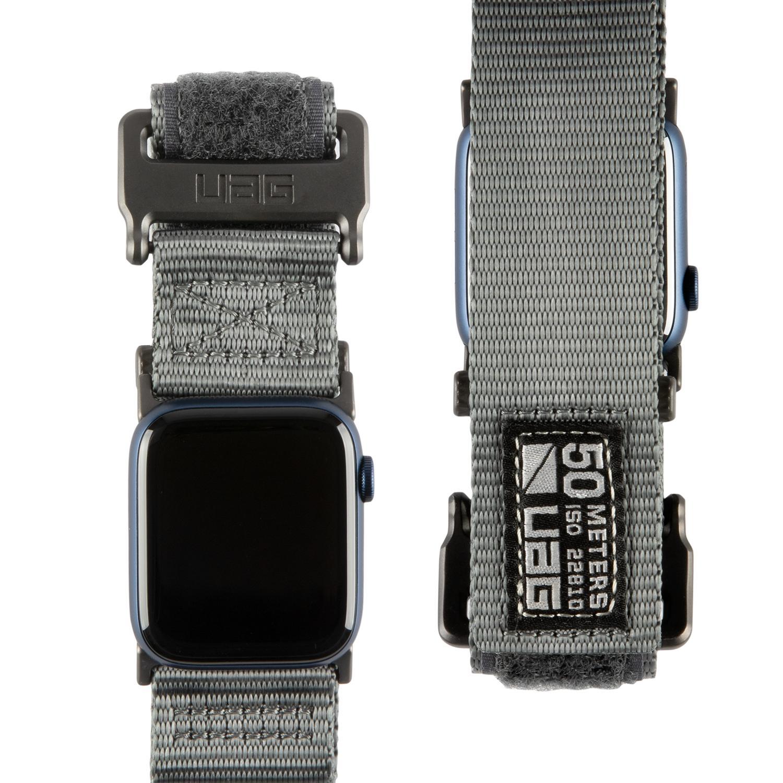 Active LE Strap Apple Watch 42/44 mm Dark Grey