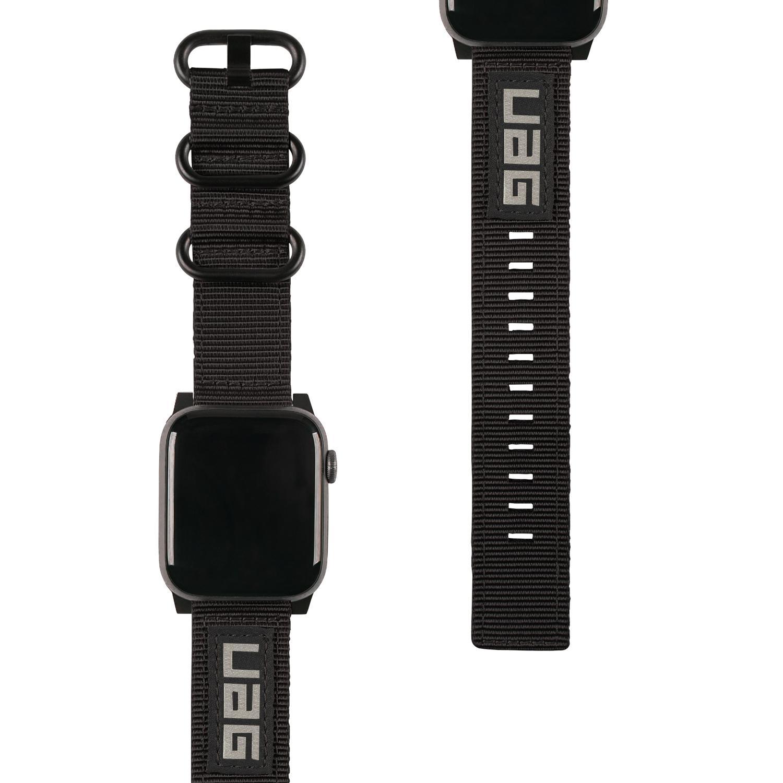 Nato Eco Strap Apple Watch 38/40 mm Black