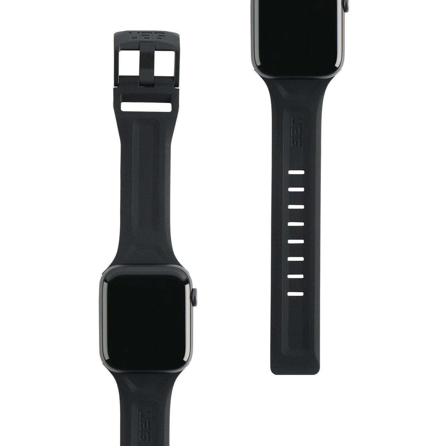 Scout Silicone Strap Apple Watch 38/40 mm Black