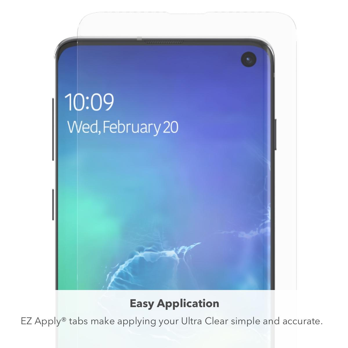 InvisibleShield Ultra Clear Screen Galaxy S10